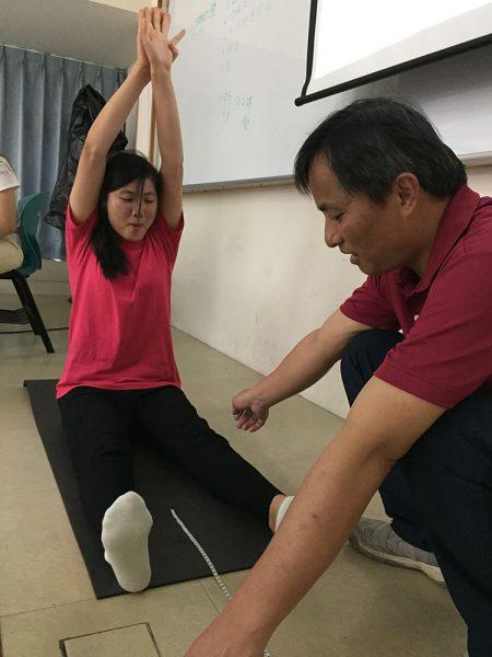 體適能 體前彎